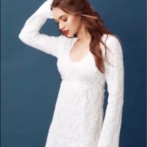 Really adorable lace mini dress